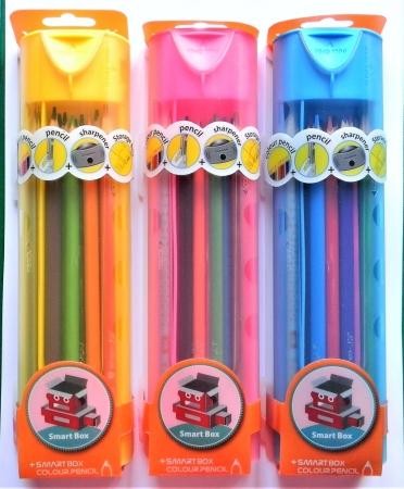 Pastelky Y-PLUS SUBMARINE box + 2 tužky + ořezávátko
