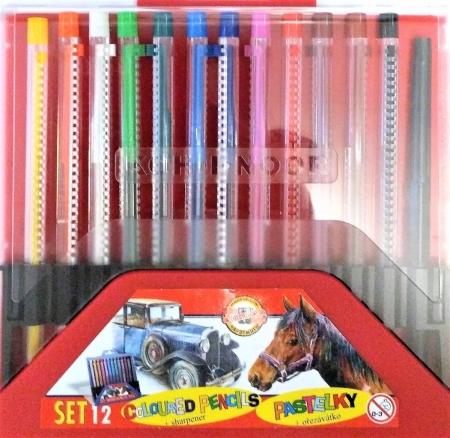 Mechanické pastelky SCALA 12 barev