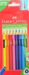 Pastelky FABER-CASTELL 10 barev
