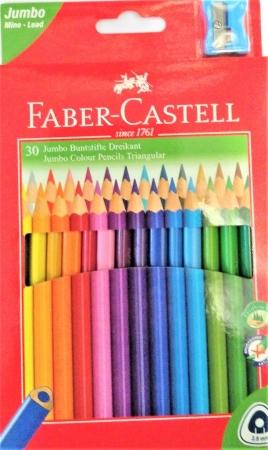 Pastelky FABER-CASTELL 30 barev