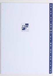 Registr A - Z  papírový A5