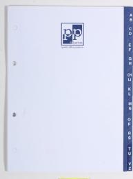 Registr A - Z papírový A4