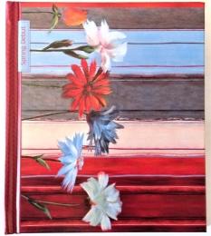 Památník ARGUS 125x145mm pruhy s květy