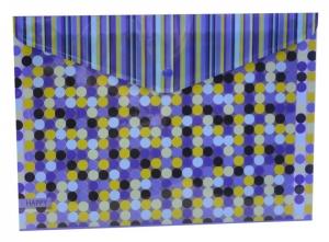 Plastový obal s drukem A4 - Happy Blue 2