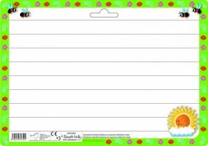 Oboustranná stíratelná tabulka A4 s motivem