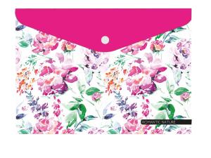 Plastový obal s drukem A4 - Romantic nature Květina