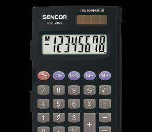 Kalkulačka SENCOR SEC 295/8 DUAL