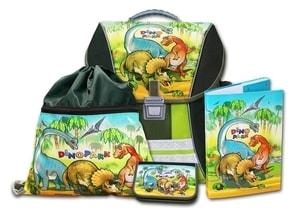 Školní batohový set 4-dílný Dinopark