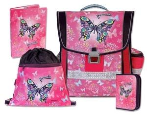 Školní aktovkový set 4-dílný Butterfly