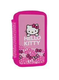 Penál 2 p. naplněný Hello Kitty
