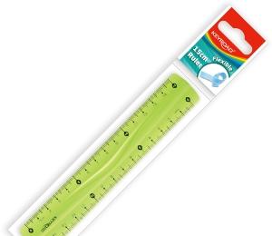 Pravítko 15cm Keyroad ohebné A650