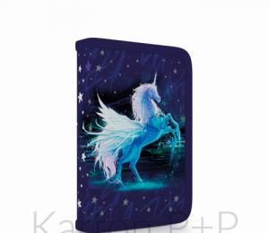 Penál 1p. s chlopní Unicorn naplněný