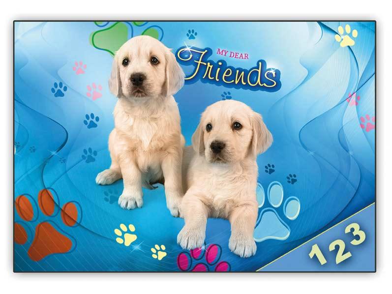 desky na číslice My dear Friends