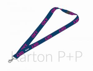 Klíčenka s karabinkou OXY BLUE LINE Pink