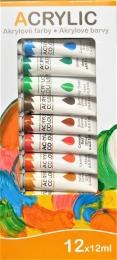Akrylové barvy Junior 12x12ml
