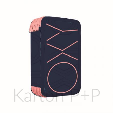 Penál 3p. prázdný OXY PASTEL LINE pink