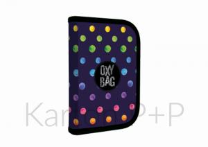 Penál 1p2chlopně OXY Dots prázdný