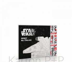Desky na číslice Star Wars 2019