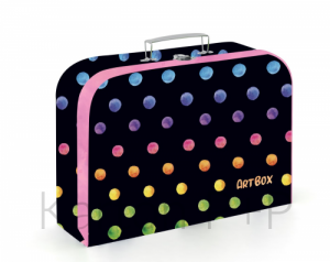 Kufřík lamino OXY Dots colors