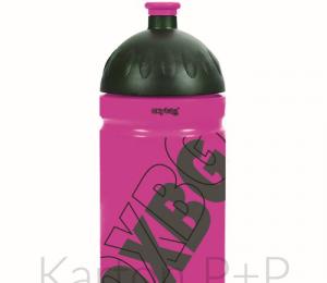Láhev na pití 500ml BLACK LINE pink