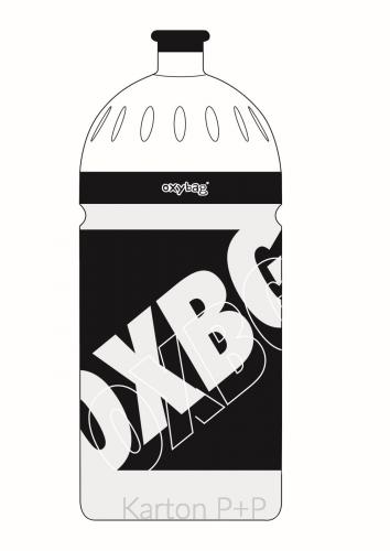Láhev na pití 700ml BLACK LINE white