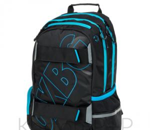 Studentský batoh OXY SPORT BLACK LINE blue