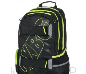 Studentský batoh OXY SPORT BLACK LINE green