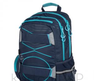 Studenstký batoh OXY SPORT PASTEL LINE blue