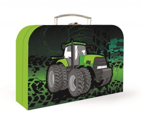 Dětský kufřík lamino 34cm Traktor