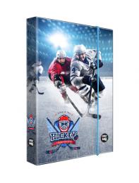 Box na sešity A4 Hokej