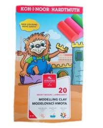 Modelína Koh-i-noor 20 barev