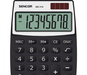 Kalkulačka SENCOR SEC 310  Duální napájení