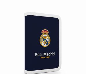 Penál 1 p. 2 klopy, prázdný REAL MADRID