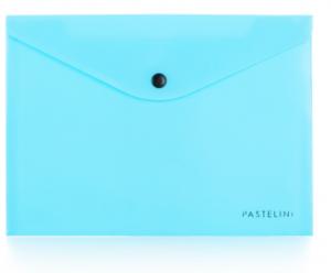 Psaníčko s drukem A5 PASTELINI modrá
