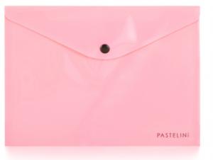 Psaníčko s drukem A5 PASTELINI růžová