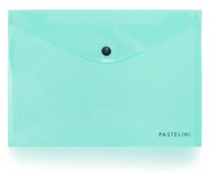 Psaníčko s drukem A5 PASTELINI zelená