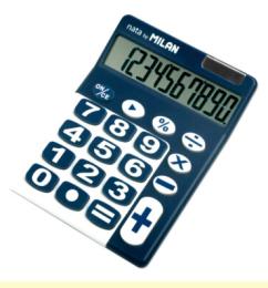 Kalkulačka MILAN 150610/10