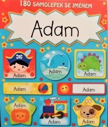 Trhací bloček se samolepkami ADAM