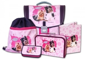 Školní batohový set Pupies 5-dílný