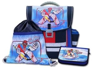 Školní batohový set Hockey 3-dílný