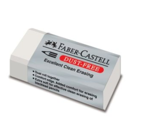 Pryž FABER-CASTELL Dust Free
