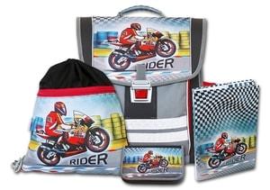 Školní batohový set Rider 4-dílný