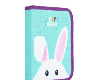 Penál 1 p. 2 chlopně, prázdný Oxy Bunny
