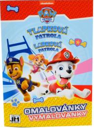 Omalovánky A5+ - Tlapková patrola