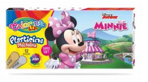 Modelovací hmota - 12 barev - Minnie - Colorino - R90652PTR LIMITOVANÁ EDICE