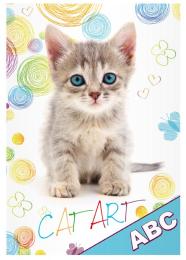 Desky na ABC Kočka