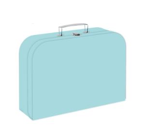 Kufřík lamino 34 cm PASTELINI zelená