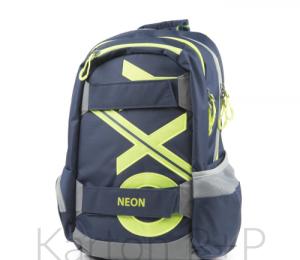 345f666cb50 Studentský batoh OXY Sport BLUE LINE Green + dárek ...