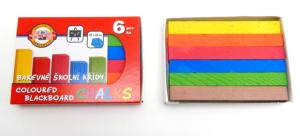 Křídy 112505/6 školní barevné