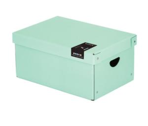 Krabice lamino velká PASTELINI zelená